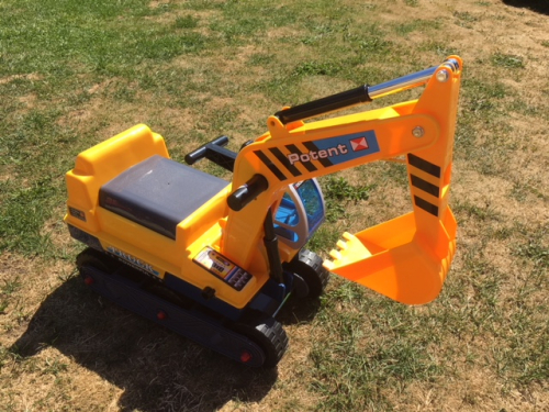 JCB digger ride on toy